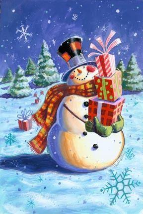 Snow Happy De Luxe -- By Geoff Allen