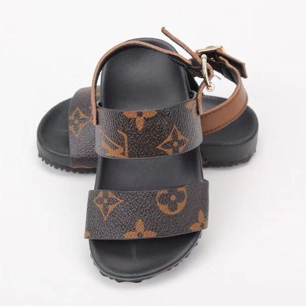NEW‼️ LV sandals sizes 9.5c-3Y $110
