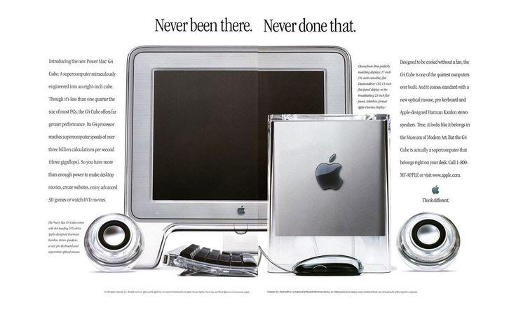 Publicité Apple • Power Mac G4 Cube (2001) - YouTube