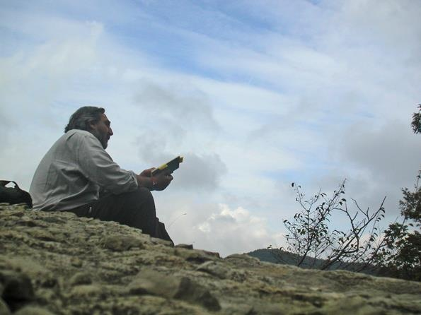 Writing teacher, workshop in the Foreste Casentinesi National Park