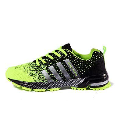 Беговая+обувь+Черный+/+Зеленый+/+Красный+Обувь+Мужской+Тюль+–+RUB+p.+2+007,49