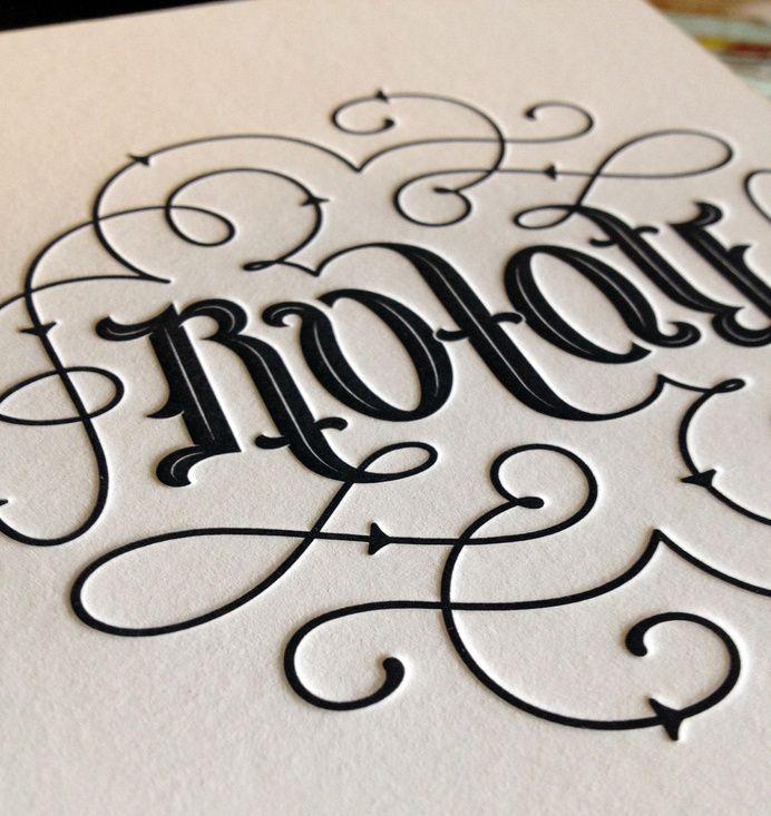 Letterpress , Graphic Design