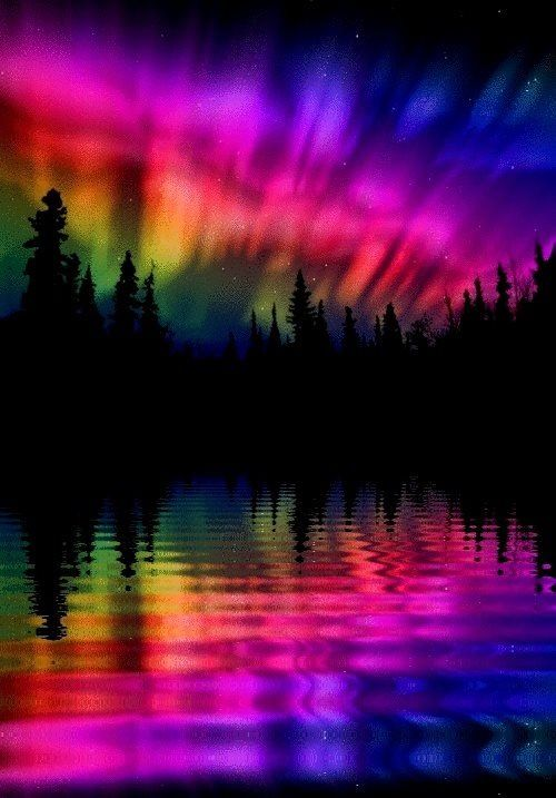 Aurora Borealis so beautiful & brilliant. One of those moments you wish…