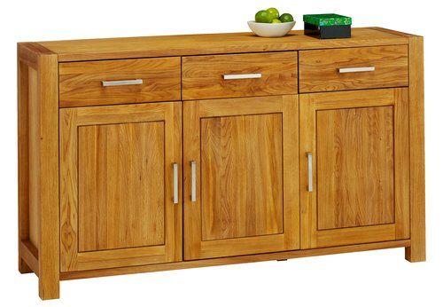 Sideboard SILKEBORG 3 doors oiled oak   JYSK