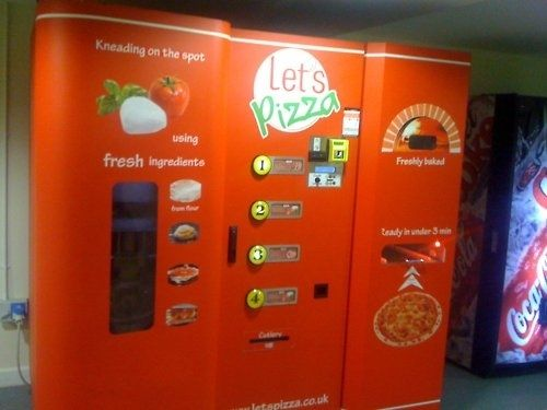 Whoa!!   A PIZZA Vending Machine!!  Ah-MAZE-ing!!!!  :)
