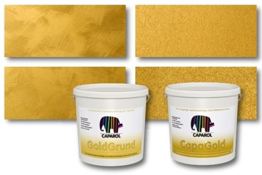 CapaGold goldene Wandfarbe