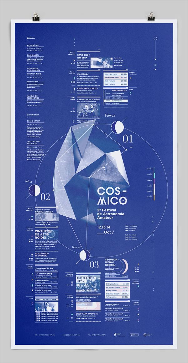 Info-graphics, space,