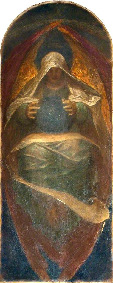 The All-Pervading painted by George Frederic Watts, 1904