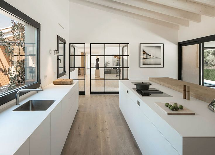 Four Kitchen Designs That Caught My Eye this Week - NordicDesign