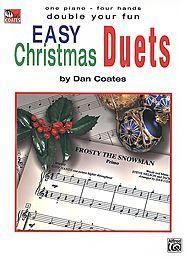 Easy Christmas Duets Sheet Music | Sheet Music Plus