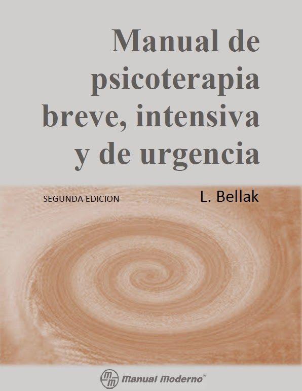 Este manual espera hacer ~an sencillos los principios y técnicas básicas de la psicoterapia breve y de urgencia que aun las personas qu...