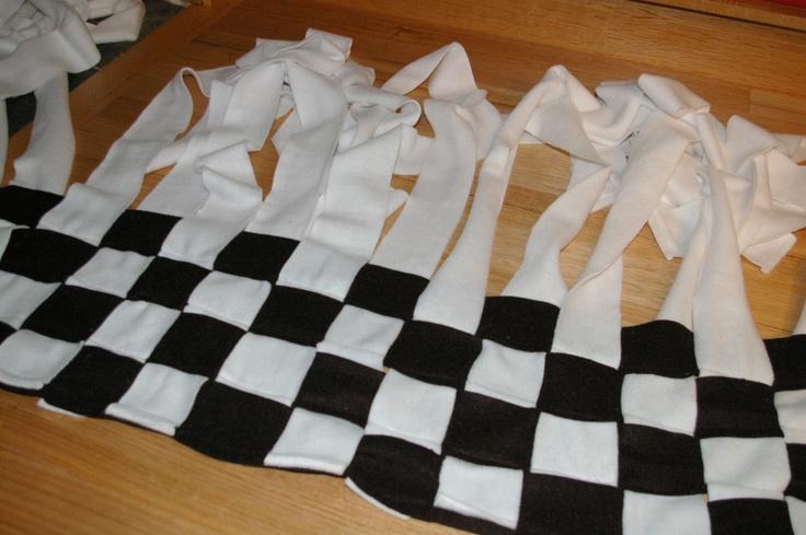 Diy Woven Fleece Blanket Blankets The Website And