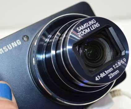 Lensa Zoom Samsung Galaxy Camera