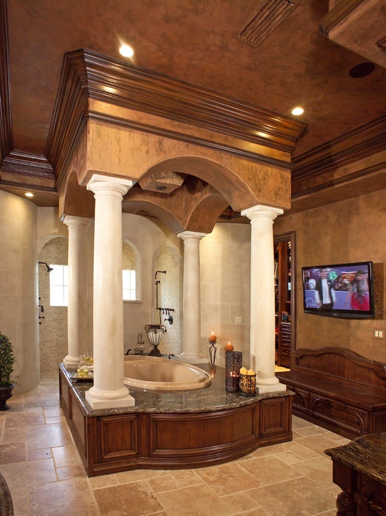 This must be a royal bathroom lol85 best Luxury Master Baths images on Pinterest   Master baths  . Luxurious Baths. Home Design Ideas