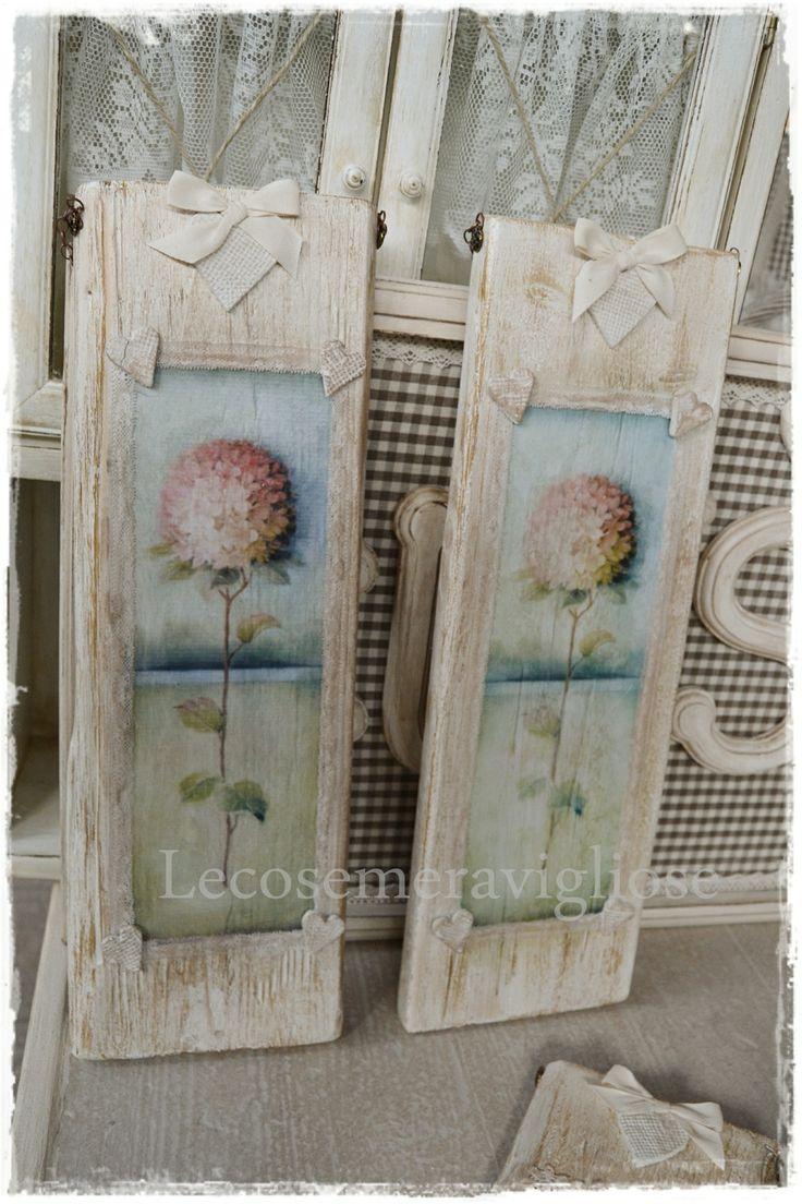 quadri in legno: