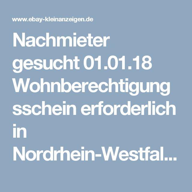 Nachmieter gesucht 01.01.18 Wohnberechtigungsschein erforderlich in Nordrhein-Westfalen - Rheda-Wiedenbrück | Erdgeschosswohnung mieten | eBay Kleinanzeigen
