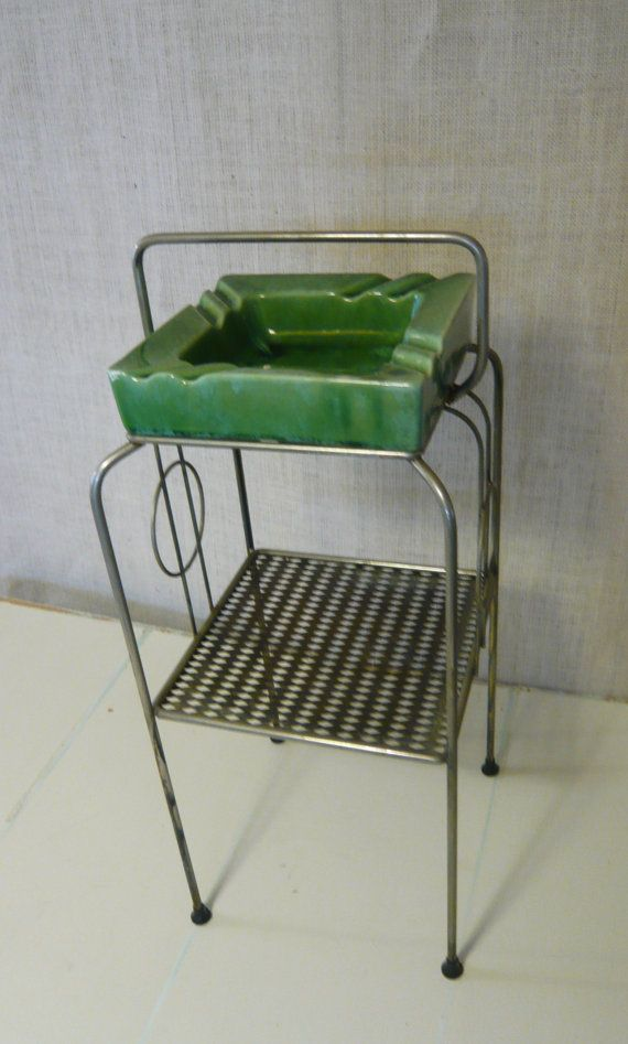 Hey, I found this really awesome Etsy listing at https://www.etsy.com/listing/190508040/vintage-mid-century-smoking-stand