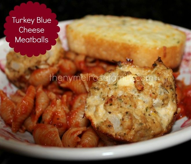 Turkey Blue Cheese Meatballs | Only the BEST apps here! | Pinterest ...