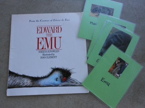 Edward the Emu...Animal Charades (DIY games for kids)