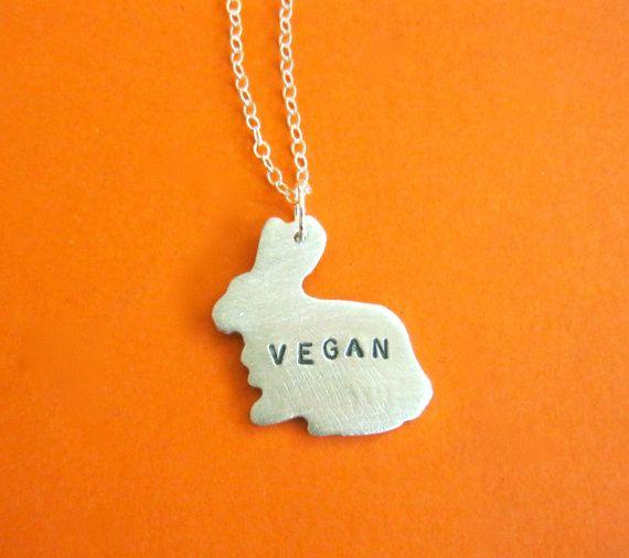 Eco Mini Vegan Bunny Necklace