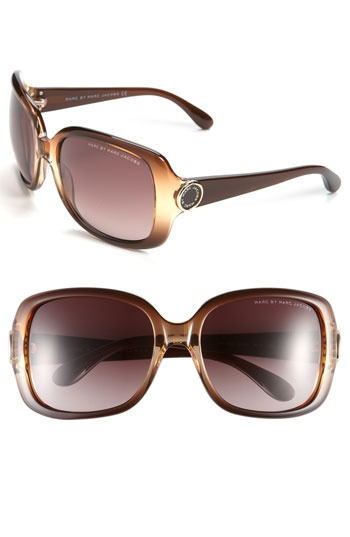 MARC BY MARC JACOBS Oversized Sunglasses. Cute!