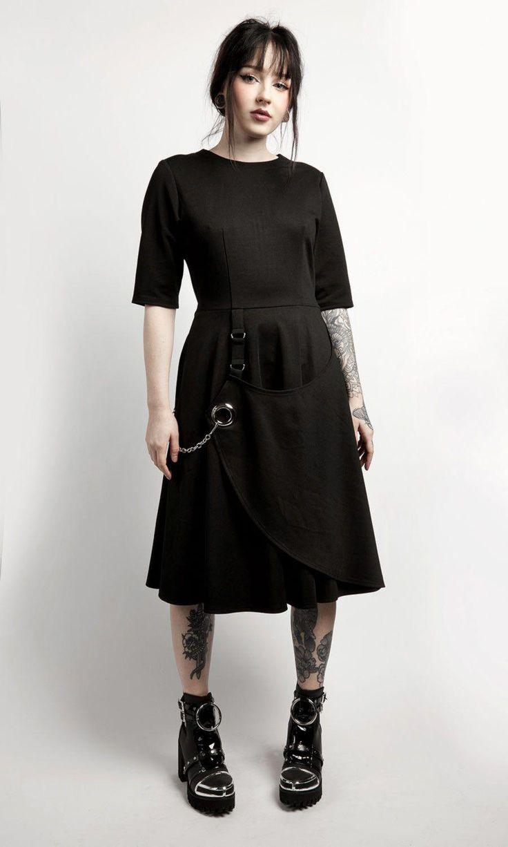 Pythia Dress #disturbiaclothing #disturbia #goth #alien #goth