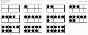 Ten Frame Clip Art/Graphics Set | Math Worksheets, Ten ...