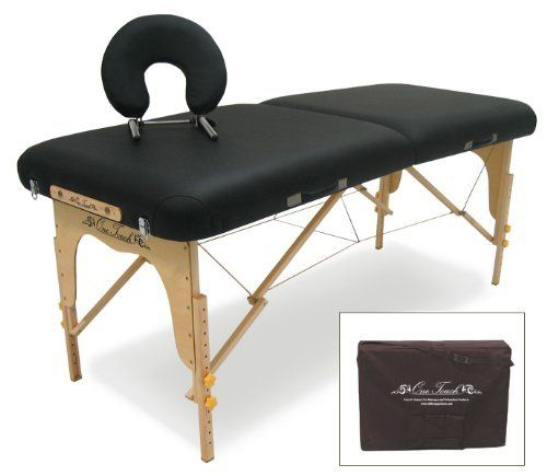 OneTouch Massage Aspire Series Portable Massage Table   Black 6X By  OneTouch Massage. Save 48