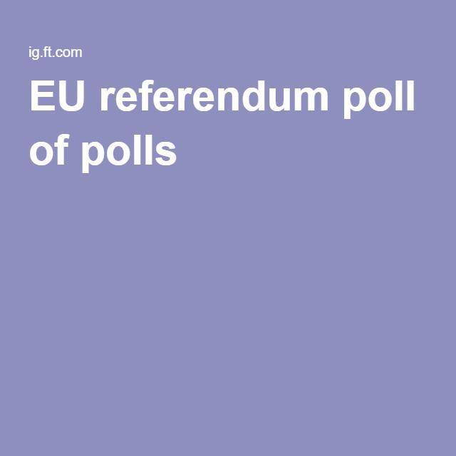 EU referendum poll of polls