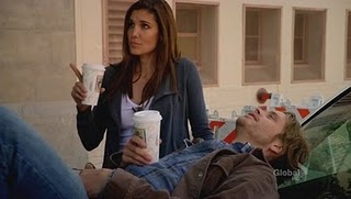 Kensi and Deeks undercover...always the same, she is uptight & he's laid-back