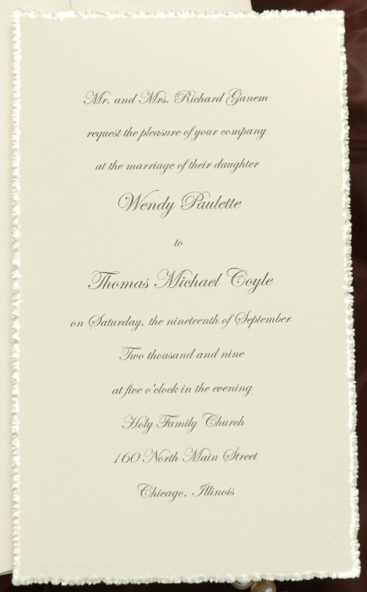 86 Best Classic Traditional Wedding Invitations Images On