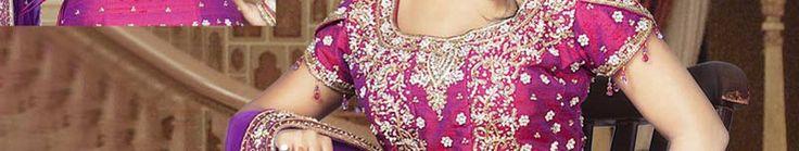 Mystic Magenta Raw Silk Fishtail Lehenga Choli with Dupatta Online Shopping: SLLWK1036