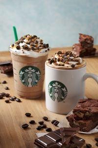 スタバ新商品「チョコレート ブラウニー モカ/フラペチーノ」が12月26日から販売開始