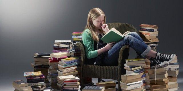 Чтение лучшее средство от стресса