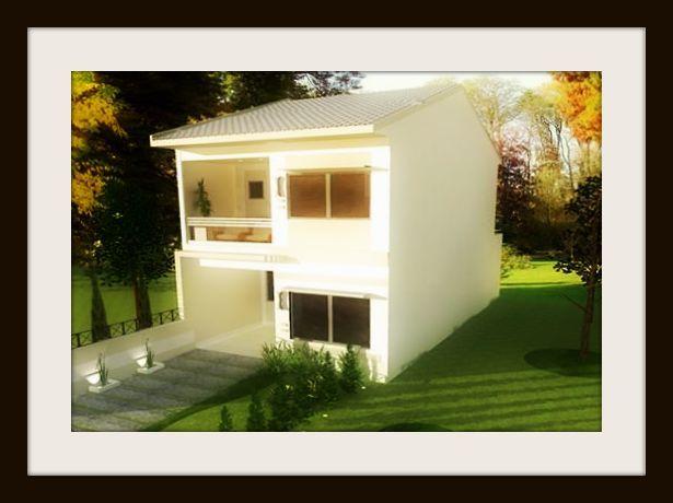 Fachadas de casas peque as segundo piso casas baratas prefafricadas pinterest fachadas de - Figuras decorativas modernas ...