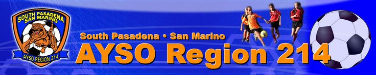 AYSO - Region 214 - South Pasadena • San Marino, Soccer, Goal, Field