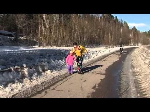 Pelle Positiivi liikenteessä - pyörätie