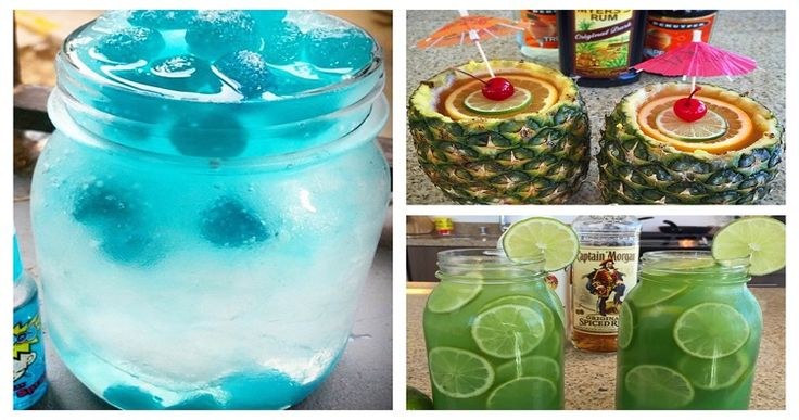 10 of the Greatest Rum Drinks Ever Made! - For more delicious recipes and drinks, visit us here: www.tipsybartender.com