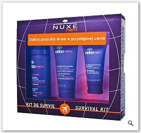 NUXE MEN ZESTAW Podróżny dla mężczyzn Nuxe Men Travel KIT - Pianka do golenia + Żel pod prysznic +
