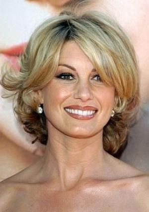 Medium Hair Styles For Women Over 40 | hairstyles for women over 40 mid lengthFaith Hill Medium Length Curly ... by dixie