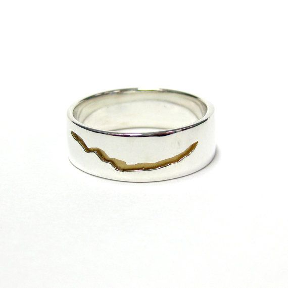 Dr Who inspired Crack in Space and Time Ring Sterling by JeweLust, $170.00