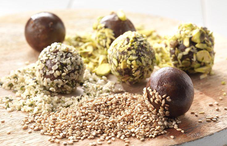 Amber Albarda- chocolade truffels