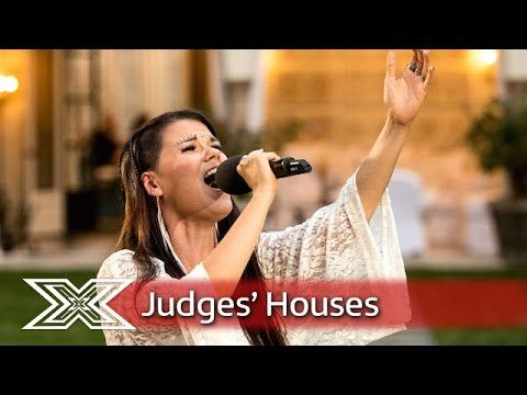 Saara Aalto covers Abba's The Winner Takes it All | Judges' Houses | The X Factor 2016