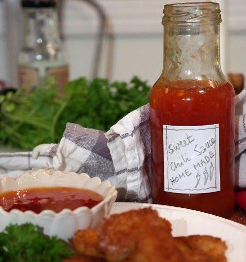 Lizasmatverden-Livet med tre store og en liten: Sweet chili sauce