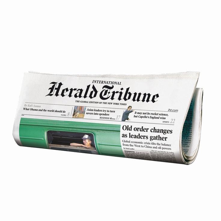 International Herald Tribune Newspaper