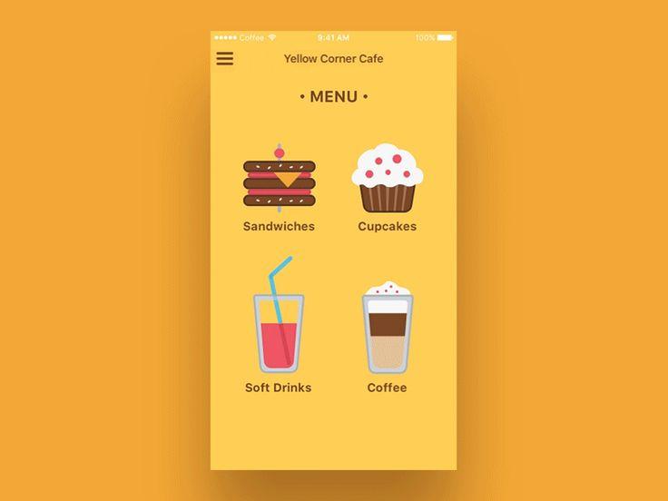 Pre-Order App for Cafe