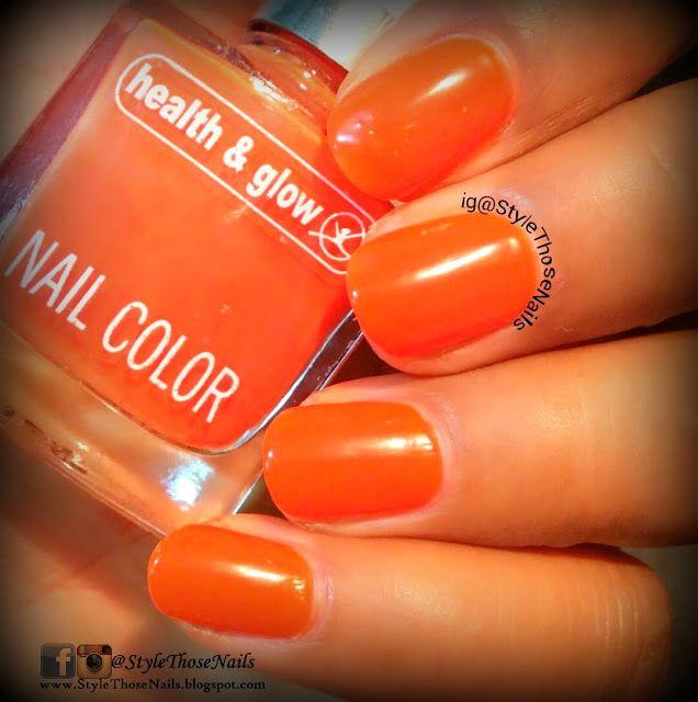 http://stylethosenails.blogspot.com/2015/08/sunset-in-hawaii-summer-nailart.html Style Those Nails: Sunset in Hawaii - Summer Nailart featuring Health&Glow Fluo Magenta and Fluo Red Orange Nail Polishes