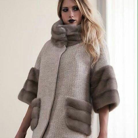 Комбинировать - СУПЕР))) #лоден#мех#рукоделие#пальто