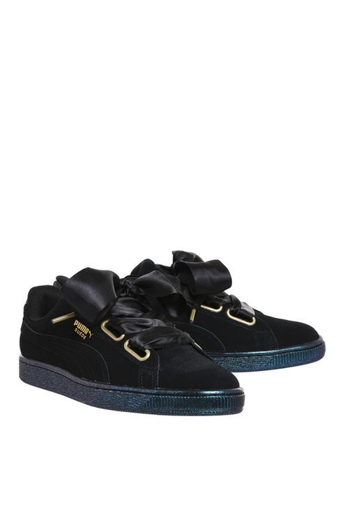 **Suede Heart Trainers by Puma