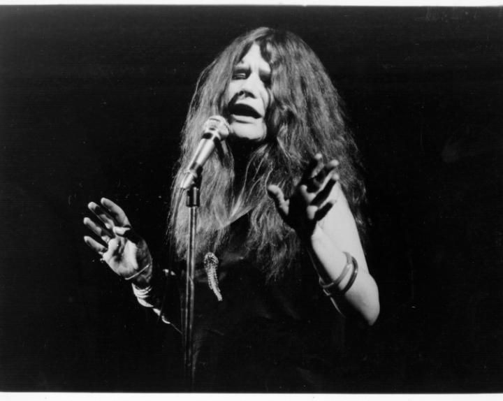 At the end of the decade, rock and blues legend Janis Joplin appeared on the scene with hair that looked, to older observers, positively dirty. Ratted, wavy, voluminous, and totally natural, Janis's style would influence rocker chic hair for decades to